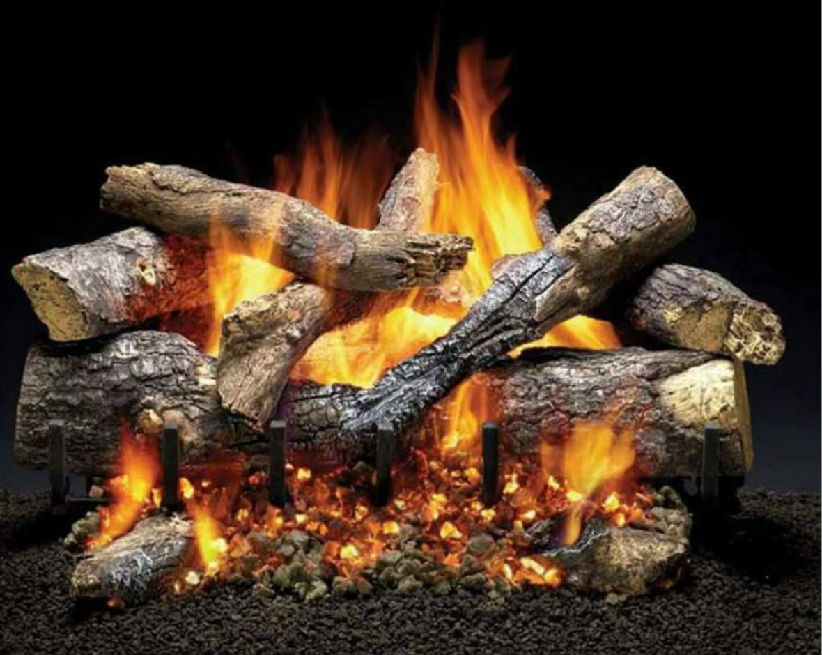 Fireside Grand Oak Gas Logs Cyprus Air Fireplaces Va Md Dc